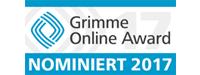 Grimme Online Award Nominierung 2017